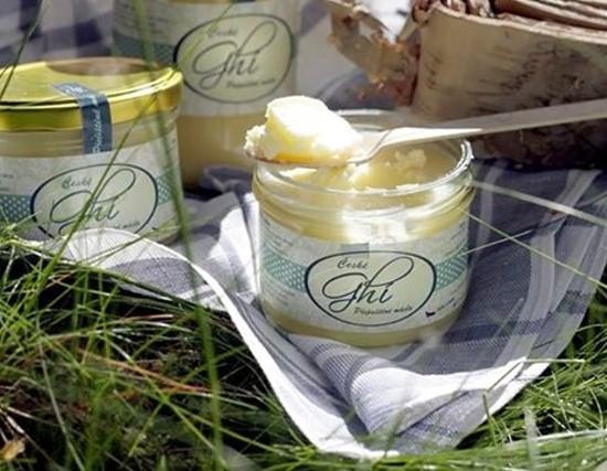 Obal sklenice - Ghi - Přepuštěné máslo