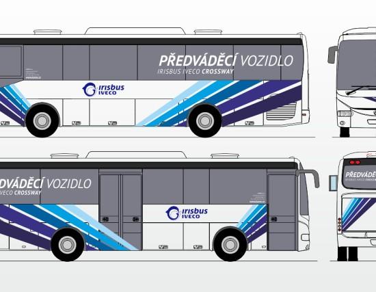 Polep autobusu - Karex