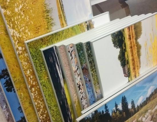 Samolepka - PVC deska, rámování